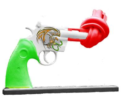 """Knotted Gun"" criada por Alfonso Herrera"